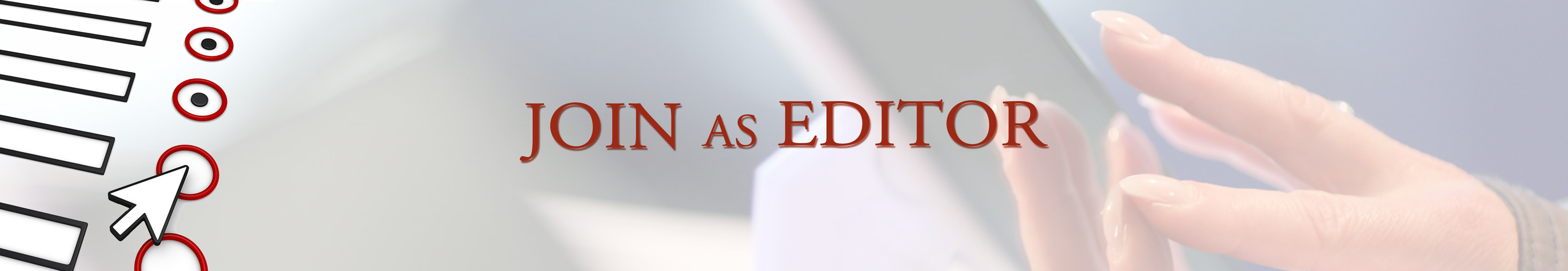 Join as Editor